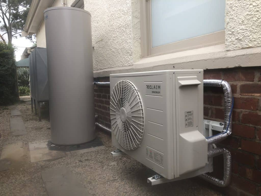 Reclaim Energy Heat Pump installed in Black Forrest