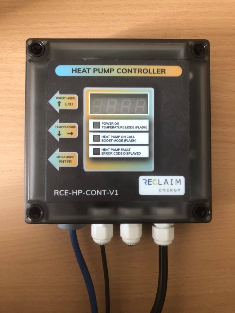 Reclaim Energy Heat Pump Controller