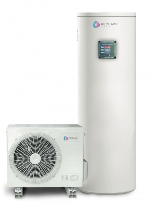 Reclaim Energy Co2 hot water heat pump system